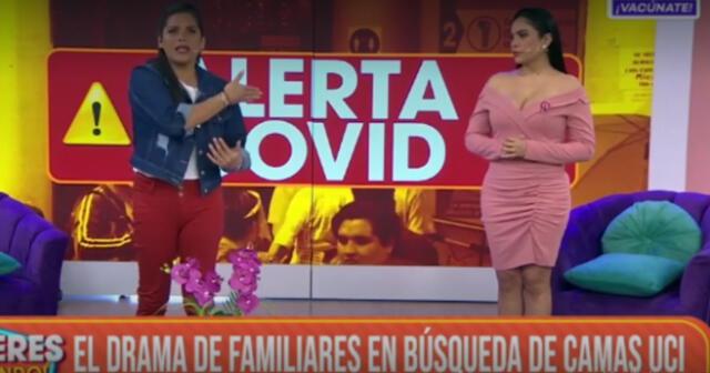 Mujeres al Mando se pronuncia sobre la red criminal que cobraba por camas UCI.