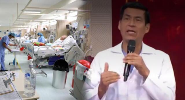 Tráfico de camas UCI en principales hospitales del Perú.