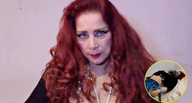 Monique Pardo fue atendida de emergencia en la Clínica San Gabriel al amenazar con un infarto.
