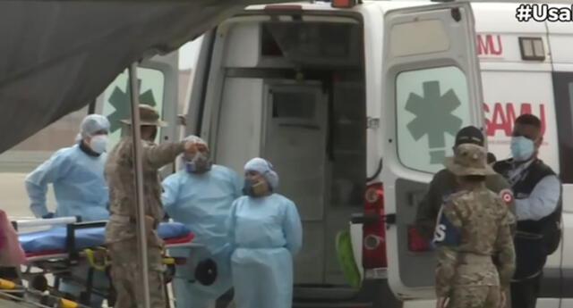 Heridos están en Lima y serán trasladados de inmediato a nosocomios.