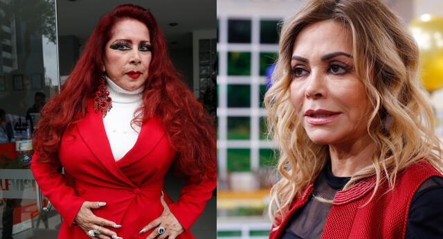 Monique Pardo confiesa que producto de la caída que tuvo en el programa de Gisela, tiene complicaciones con su salud.