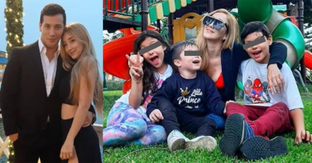 Jean Paul Santamaría,  Romina Gachoy y sus tres hijos dejan Perú y se van a Uruguay.