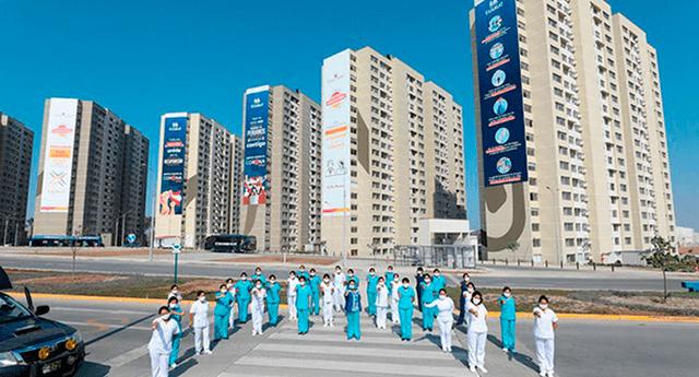 Villa Panamericana para pacientes contagiados de la COVID-19 o sospechosos asíntomáticos