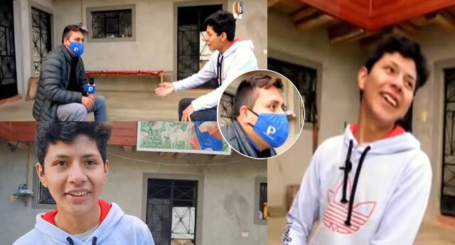Entrevista al hijo de Pedro Castillo se hizo viral en las redes sociales.