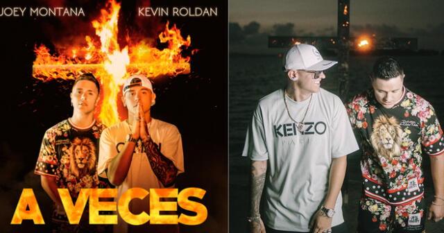 Joey Montana y el colombiano Kevin Roldán se unen y presentan nuevo tema 'A veces'