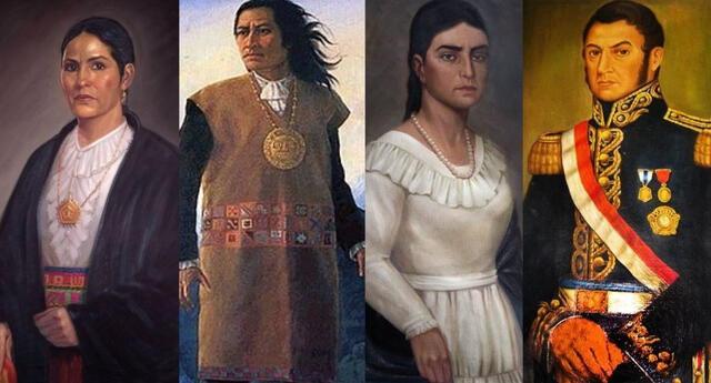 ¿Quiénes son los precursores y próceres de la Independencia en Perú?