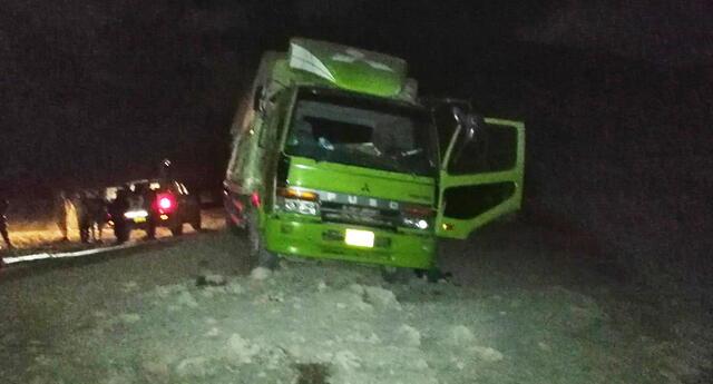 Asalto ocurrió en la carretera Panamericana Sur, por el sector de Caravelí.