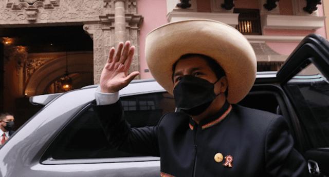 Pedro Castillo llevó a cabo mensaje a la nación en el Congreso.