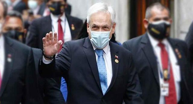 El presidente de Chile, Sebastián Piñera, confirmó que el mandatario electo Pedro Castillo lo ha invitado a participar en la ceremonia.