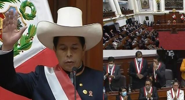 Mensaje a la Nación de Pedro Castillo generó reacciones en el Congreso.