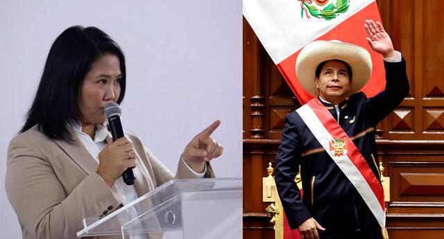 Keiko Fujimori envía duro mensaje a Pedro Castillo