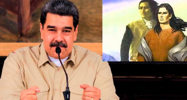 Nicolás Maduro recordó la lucha precursora de Túpac Amaru y Micaela Bastidas.