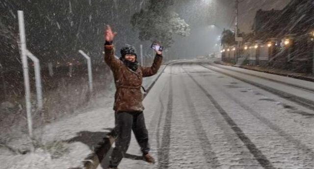 Nieve en Brasil: inusual fenómeno cubrió ciudades al sur del país por bajas temperaturas.