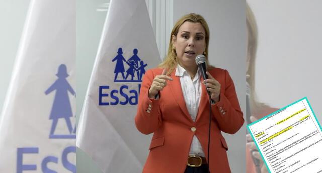 Fiorella Molinelli lideraría presuntamente la organización crimina 'El club de las Farmacéuticas'.