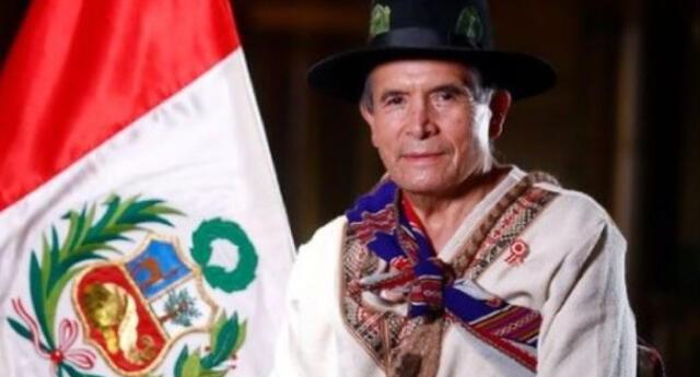 Excandidato presidencial Ciro Gálvez juró como ministro de Culturas del gobierno de Castillo.