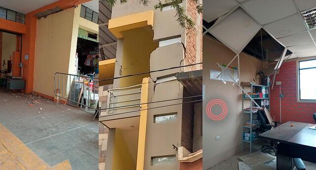 fuerte sismo de 6.1 en Sullana deja viviendas dañadas