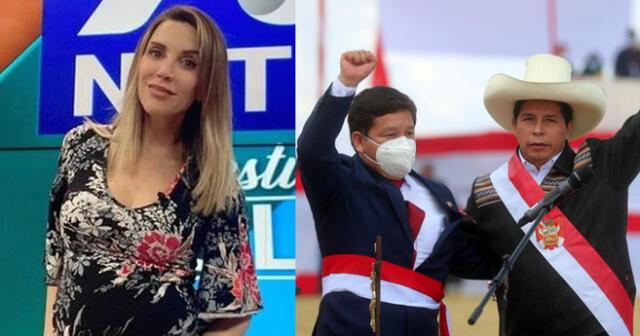 Juliana Oxenford arremete contra Pedro Castillo.