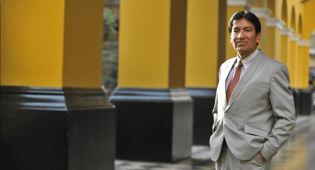 Profesor Juan Cadillo es parte del gabinete ministerial.