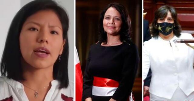 Indira Huilca dio su aprobación hacia las mujeres del Gabinete Ministerial.