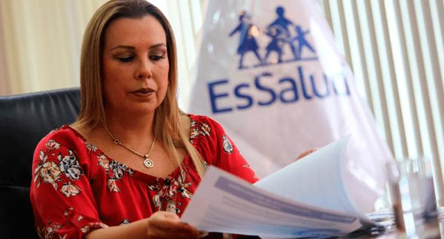 Fiorella Molinelli y otros 13 funcionarios de EsSalud pertenecerían a una organización delictiva
