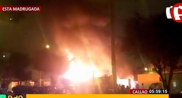 Hasta el momento se deconoce cuál habría sido la razón de las llamas, pero según las primeras investigaciones sería debido a la falla técnica de un motor.