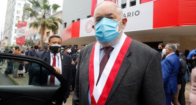 Jorge Montoya, vocero de Renovación Popular.