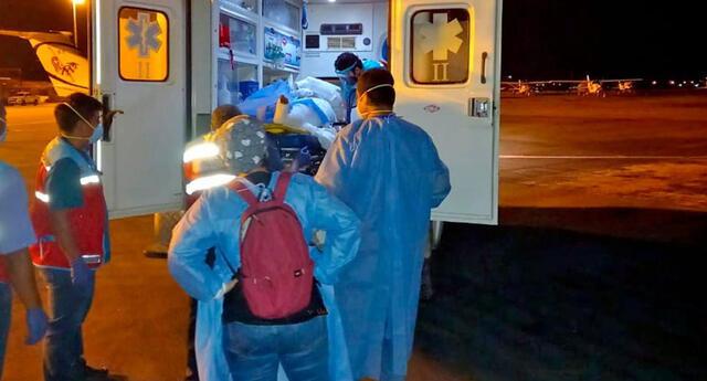 Víctima fue trasladada de emergencia al hospital