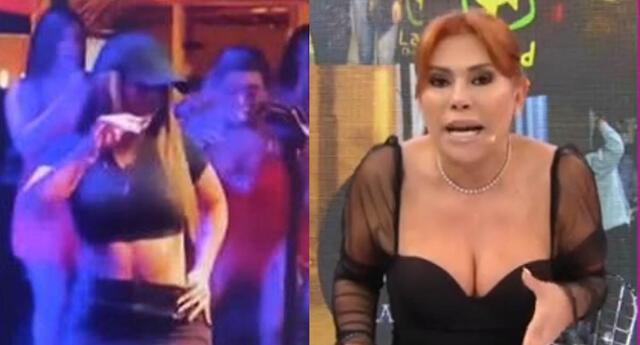 Magaly Medina critica look de Yahaira Plasencia por animar evento con una gorra.