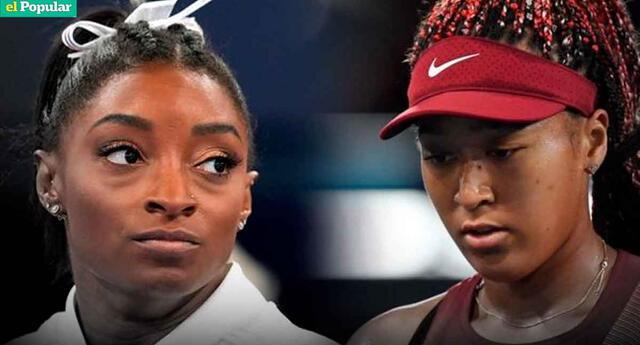 Simone Biles y Naomi Osaka: dos campeones con un problema en común, la salud mental.