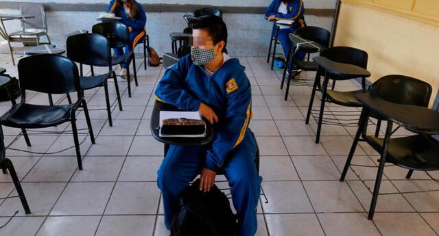 Las clases presenciales ya están habilitadas en algunos colegios de Arequipa.