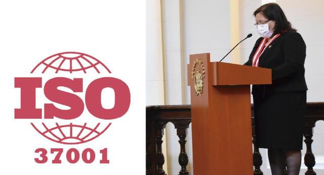 La presidenta de la Comisión de Integridad Judicial, jueza suprema titular Mariem De La Rosa Bedriñana hizo importante anuncio