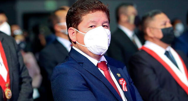 Guido Bellido, presidente del Consejo de Ministros.
