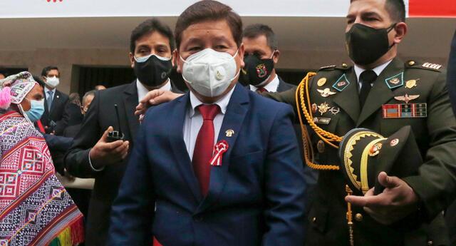 Martínez aseguró, además, que desde Acción Popular no apoyarán el inicio de una Asamblea Constituyente.