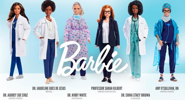 Con más de 200 carreras, Barbie continúa celebrando los modelos a seguir.