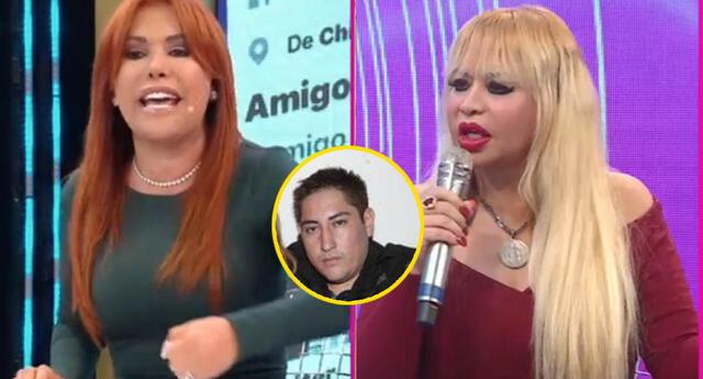 Magaly Medina pone en su sitio a Susy Díaz tras defender a su expareja.