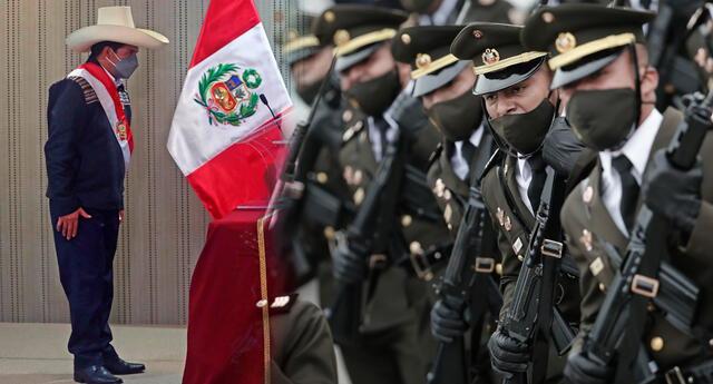 Fuerzas Armas y Policía Nacional reconocerán al nuevo Jefe de Estado.