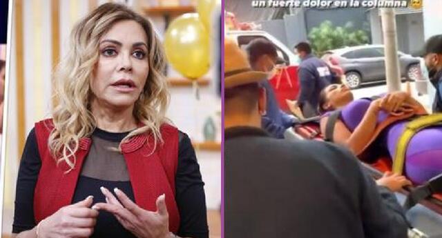 Gisela Valcárcel lamentó el accidente que tuvo Allison Pastor en sus ensayos de Reinas del show.