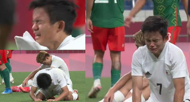 Kubo no pudo contenerse al quedarse con las manos vacías en Tokio 2020.