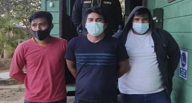 Delincuentes fueron capturados en la provincia de Tambopata.