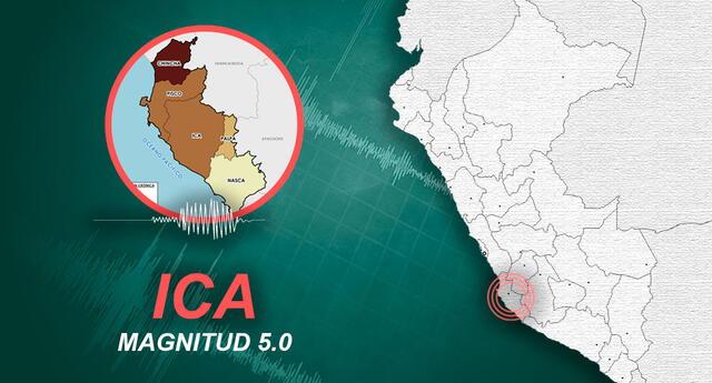 Ica viene registrando tres sismos seguidos en menos de una hora.