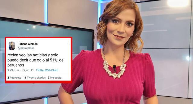 Usuarios hacen recordar a Tatiana Alemán sus antiguos Tuits.