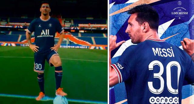 PSG confirma que el contrato de Messi será de dos temporadas.
