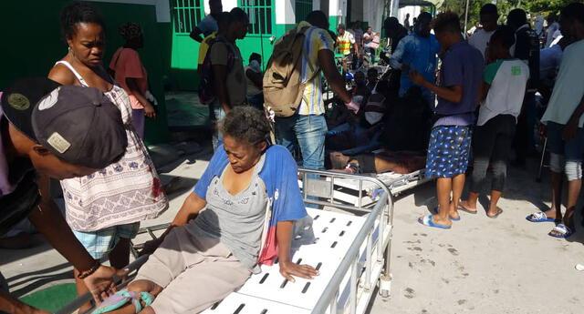 Haití se vio afectado en enero de 2010 por un terremoto de 7 grados, que dejó 300.000 muertos.