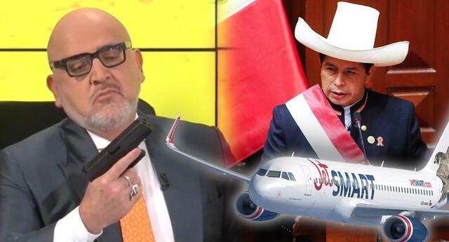 Beto Ortiz dice ser enemigo del régimen de Pedro Castillo pero lo trolean.