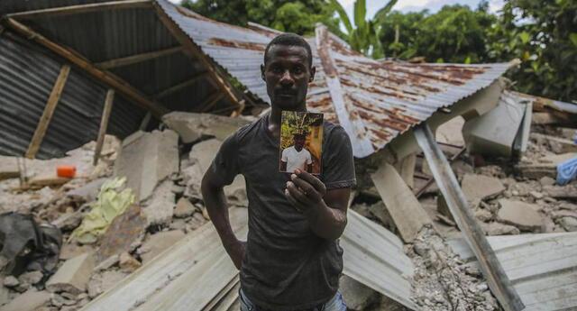 Hasta el momento el terremoto de magnitud de 7,2 que sacudió el suroeste de Haití va dejando 1.941 fallecidos y más de 9.000 heridos