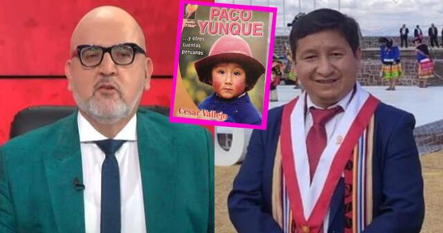 Beto Ortiz comparó de manera muy despectiva al Premier Guido Bellido con Paco Yunque.