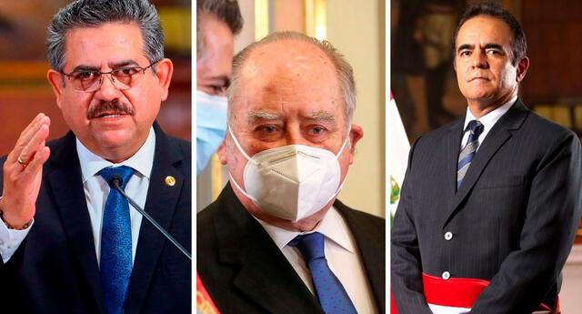 Merino, Flores-Araoz y Rodríguez Limo fueron citados por la Fiscalía para este 25, 26 y 27 de agosto desde las 9:00 a. m.