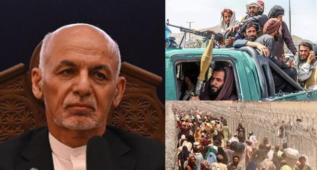 El caos y el pánico se han apoderado de Afganistán en manos de los talibanes.
