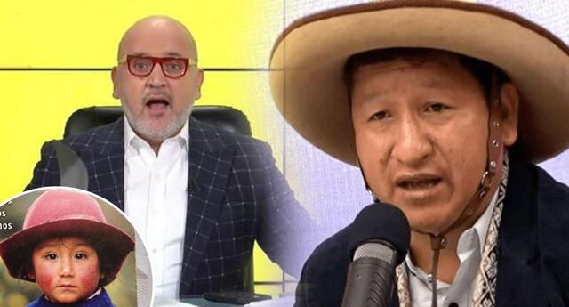 Beto Ortiz dice 'Paco Yunque y cholito retaco' a Guido Bellido