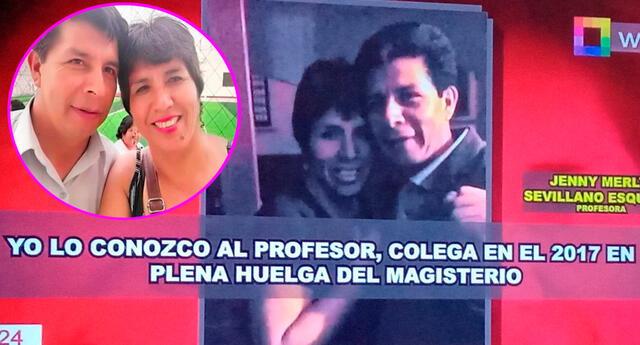 Jenny Merly Sevillano Esquivel tenía varias fotografía con Castillo es sus redes sociales.